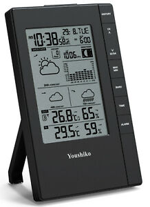 Weather-Station-with-MSF-Radio-Control-Clock-UK-Version-indoor-outdoor