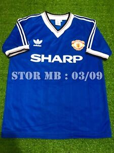 competitive price c3318 7ad36 Details about Manchester United Home 1982-83 3rd Retro shirt ( Size S M L  XL )