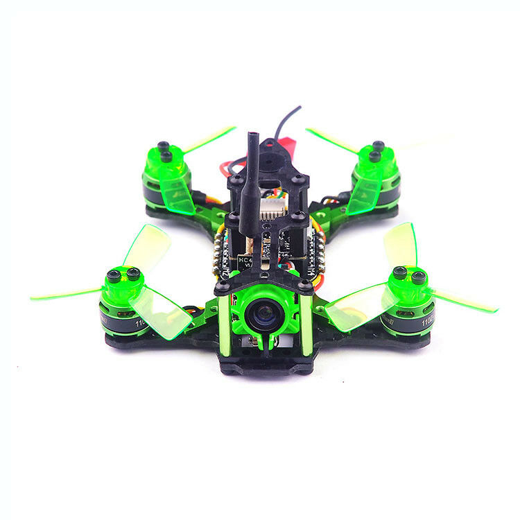 Mantis85 Mini Brushless Quadcopter RC Racer Drone BNF + Radiolink R6DSM Receiver