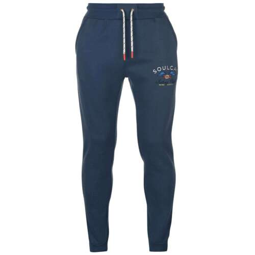 SoulCal Mens Sailing Club Joggers Jersey Jogging Bottoms Trousers Pants