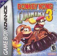 Donkey Kong Country 3 Nintendo Game Boy Advance GBA Game Cart