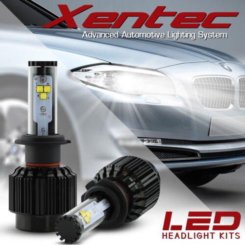 XENTEC LED HID Headlight kit 388W 38800LM H11 6000K for 2007-2010 Honda Element