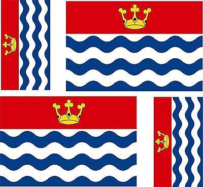 4 x sticker vinyl decal county flag uk bumper windows car moto biker wessex