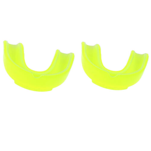 2Pcs Gum Shield Mouth Guard for MMA Martial Arts Hockey Sports Boxing Rugby