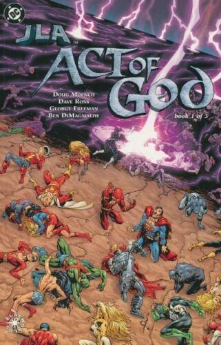 JLA ACT OF GOD #13 COMPLETE SET LOT FULL RUN JUSTICE LEAGUE FLASH SUPERMAN