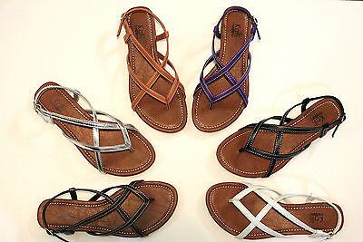 New Women T - Strap Gladiator Thong Flip Flops Sandals Shoes Size