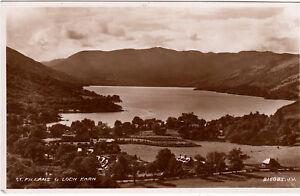 Postcard-ST-FILLANS-AND-LOCH-EARN-Ref-B5