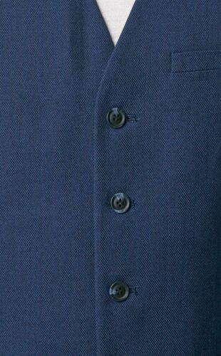 Chaleco Formal Chaleco Para Hombre De Cuadros Negro Carbón Azul Marino Piedra regulares y Calce Ajustado Reino Unido