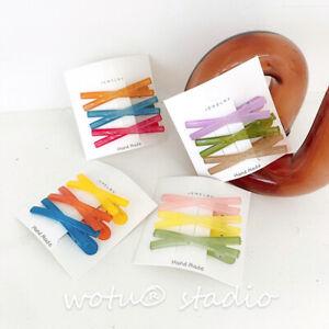 2-3PCS-Women-Candy-Color-Hairpin-Resin-Hair-Clip-Duckbill-Clip-Hair-Accessories