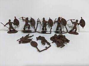 Conte-Zulu-Wars-Zulu-Warriors-8-Figures-Set-3-New-Unplayed-034-DEAD-CLUMP-ZULU-034