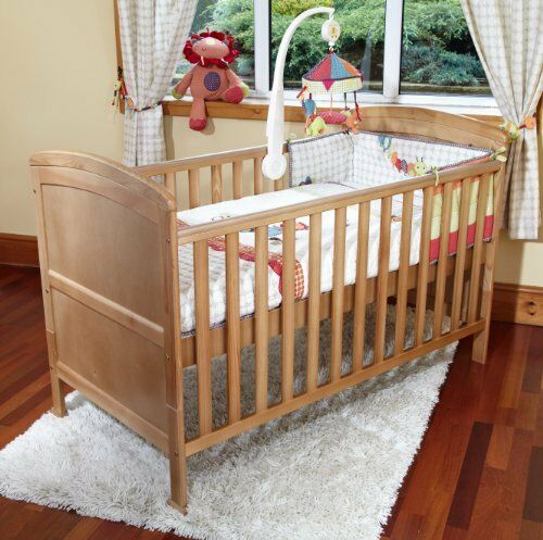 Poppy/'s Playground Penelope Cot bed//Junior Bed Pine//Modal Pocket Spring