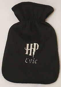 Image Is Loading Harry Potter HP Logo Hot Water Bottle Personalised