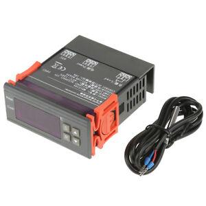 MH1210A-Mini-Digital-LED-Thermostat-Temperature-Controller-w-Sensor-Probe-New