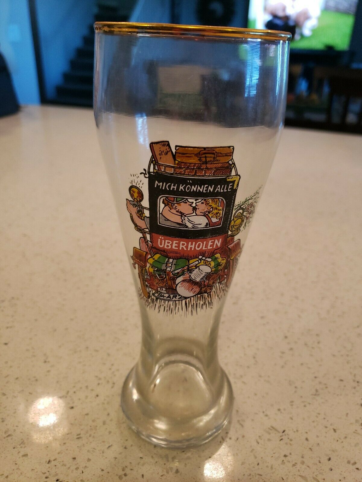 Chouffe Find Marcel Tulip Glass Top on RateBeer 330 ml NEW IN BOX
