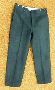 "Vintage Woolrich Herren Wolle Jagd Hose 36x28"" Pin Stripe **"
