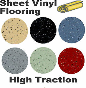 Slip Resistant Commercial Sheet Vinyl Flooring Ebay