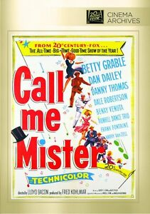Call-Me-Mister-DVD-1951-Betty-Grable-Dan-Dailey-Danny-Thomas-Dale-Robertson