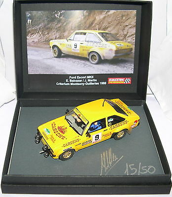 Energetic Scalextric Passion Sp005 Ford Escort Mkii #9 Montseny-guilleries 80 Lted.ed Mb Large Assortment Spielzeug