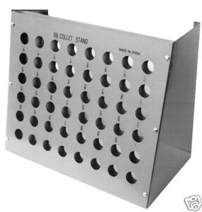 NEW R8 Collet Rack /& Tool Tray with 15 Holes High Precision