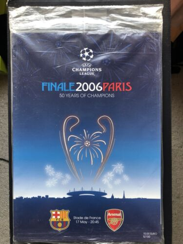 BARCELONA v ARSENAL UEFA Champions League Final 2006