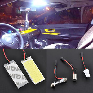 2PCS-HID-36-COB-LED-Car-Interior-Panel-Dome-Map-Lamp-Bulb-Light-Xenon-White-12V