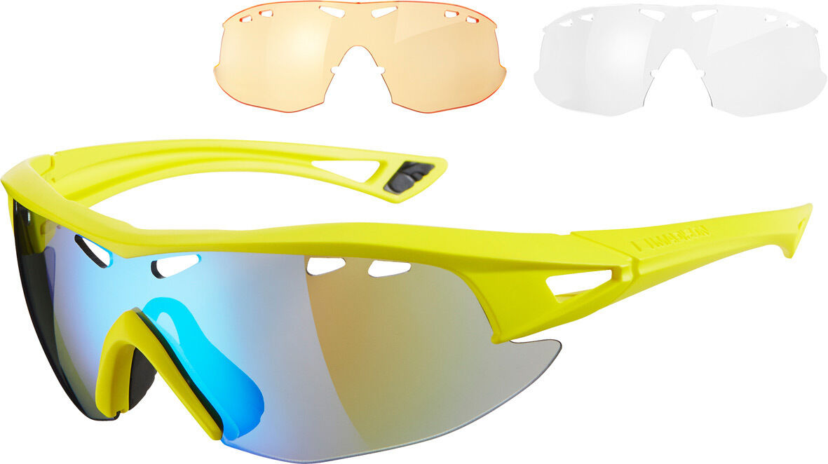 Madison Recon Gafas 3 Lentes Pack-Matt Espejo Amarillo Azul
