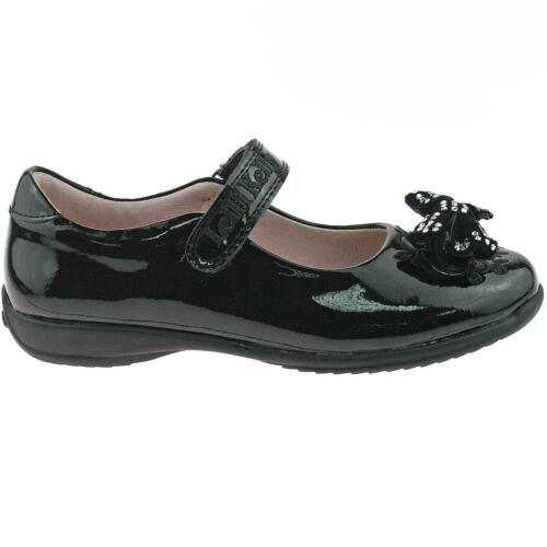 Black Patent Adele School Shoes G Width Lelli Kelly LK8244 DB01