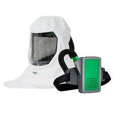 Papr Powered Air Purifying Respirator Hood Long Life Battery Hepa Filter