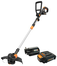WORX WG170.1 GT Revolution 20V PowerShare Cordless String Trimmer/Edger 2 batts
