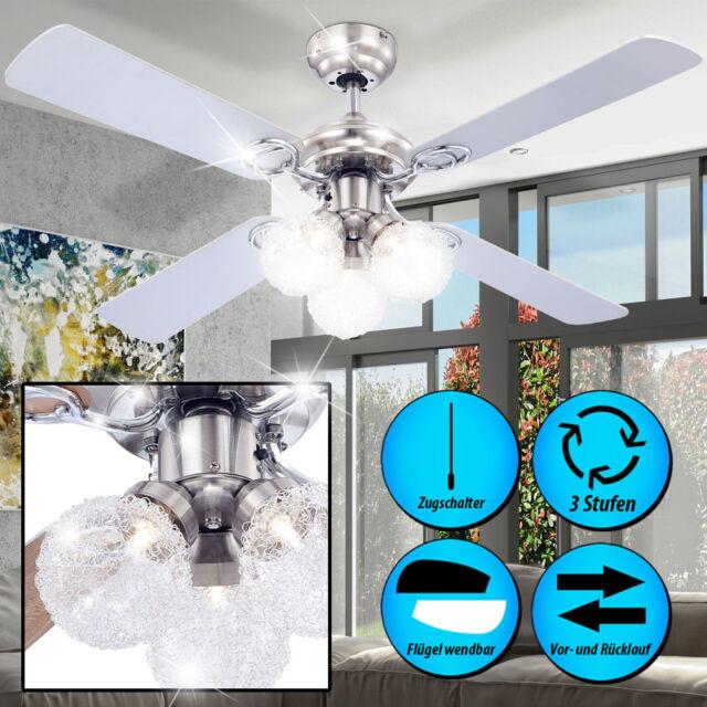 Ventilateur de plafond plus silencieux vent Ventilateur lumière couloir bureau