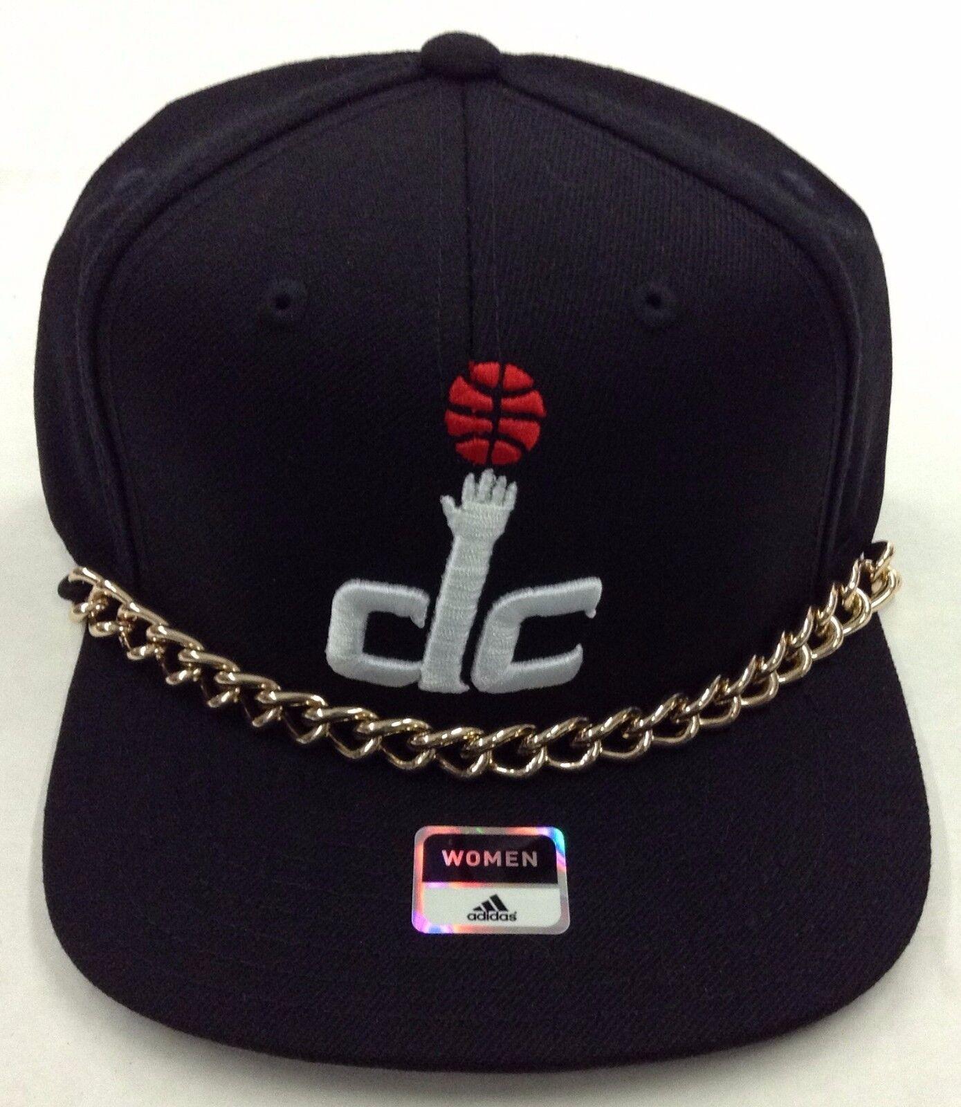 NBA Washington Wizards Adidas Damen Goldfarben Kette Kette Kette Snap Kappe Hut  Vw74w 2baec4