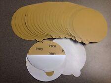 "Sand Paper PSA 6"" DA 600 Grit Stick-on (25 Pcs)"