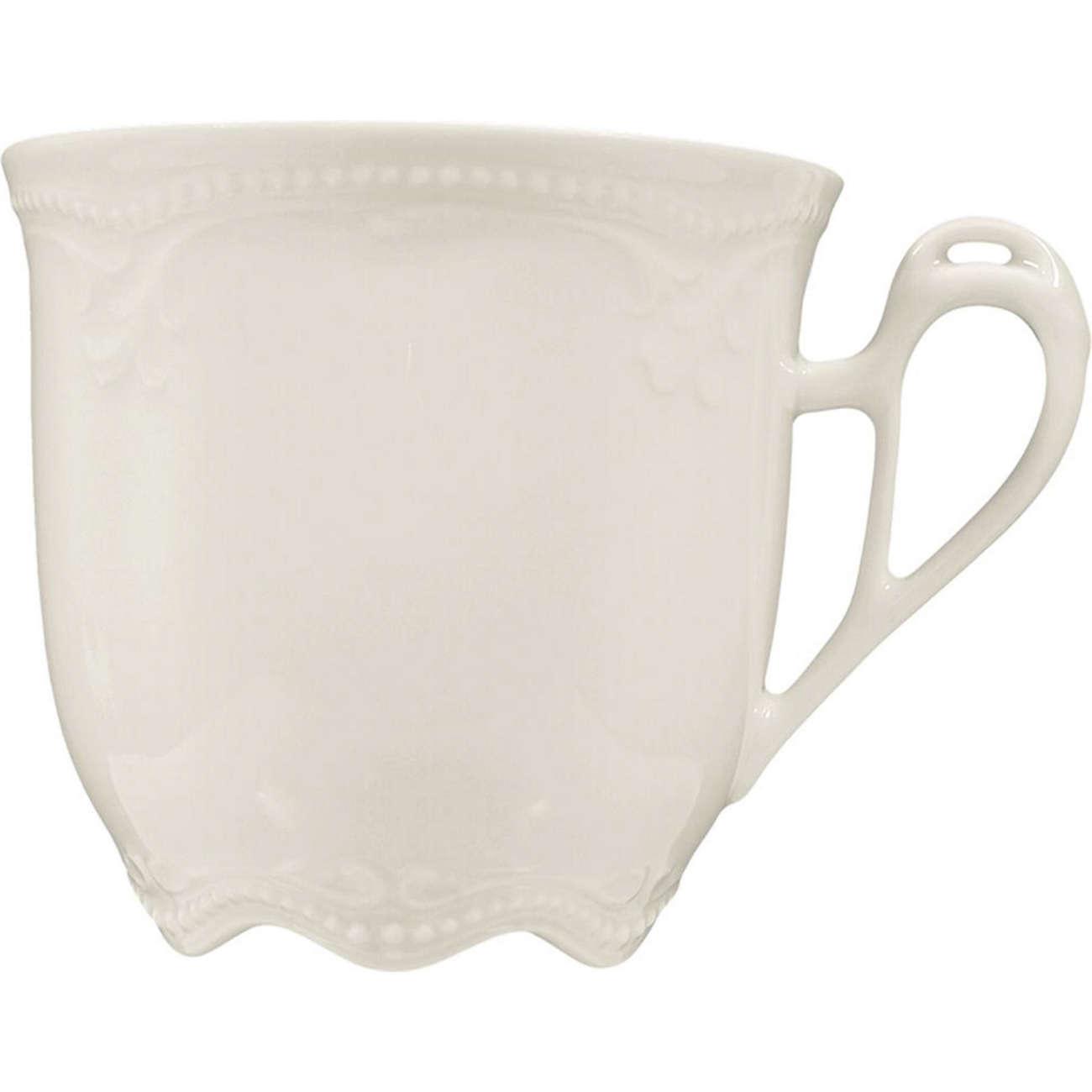 Seltmann Weiden Kaffeetasse  Rubin Cream  Porzellan, | | | Genialität  55abc1