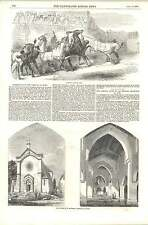 1856 Horse Races At The Carnival At Rome New Church Il Santissimo Redentore