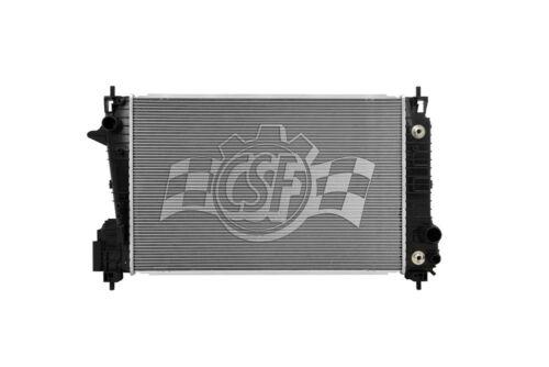 Radiator-1 Row Plastic Tank Aluminum Core CSF 3734 fits 12-18 Chevrolet Sonic
