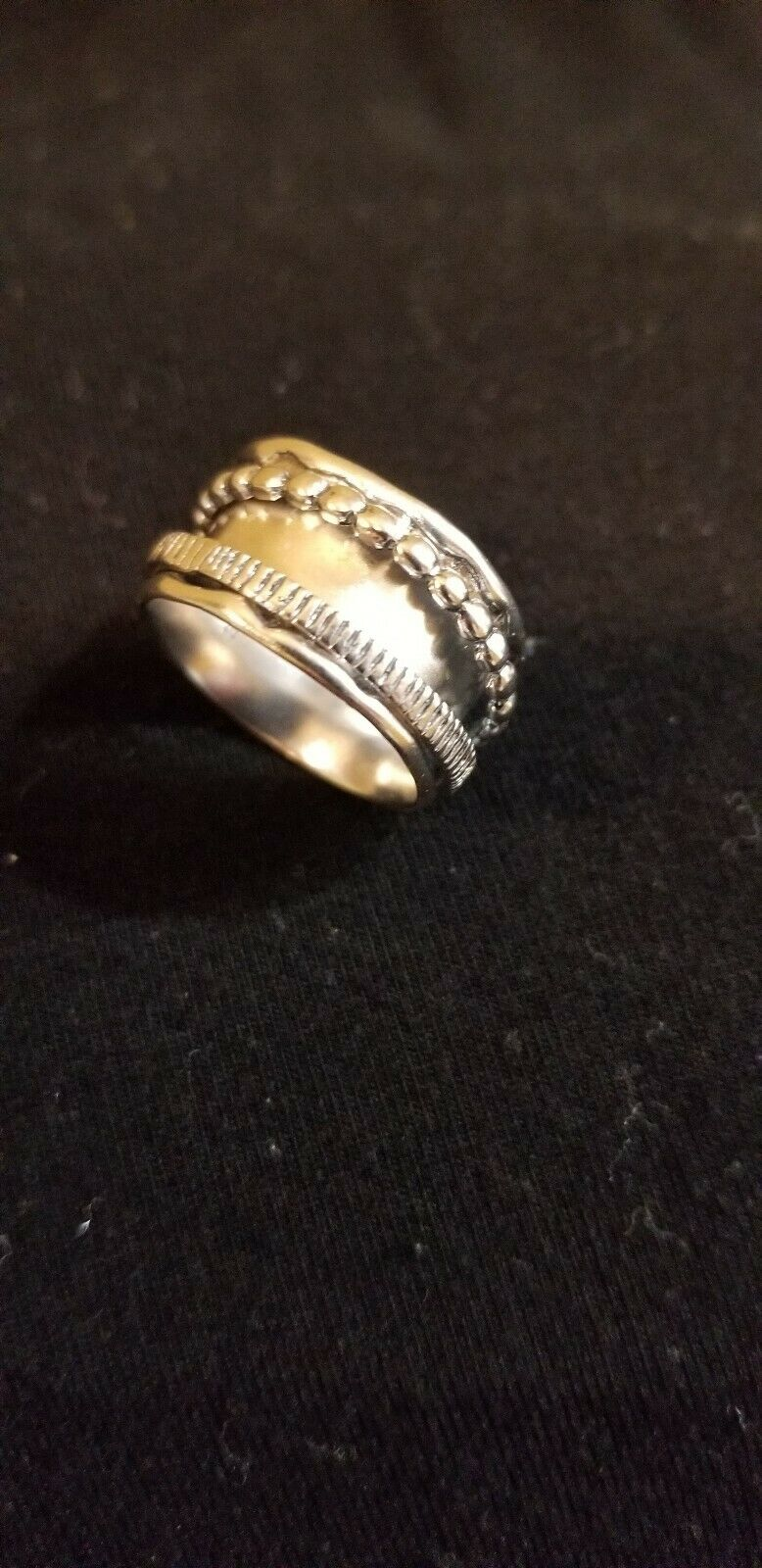 Grace and Heart Around Ring size 7 Mothers Day Gift
