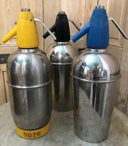 Lot-de-3-Siphon-Suze-Vintage-Ancien-Bistrot-Cafe-Carafe-Cendrier-Design