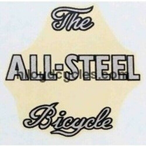 """RALEIGH /""""The All Steel Bicycle/""""."""