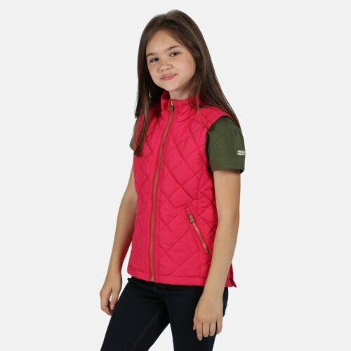 Pink Duchess Regatta Kids/' Zalenka Quilted Water Repellent Insulated Gilet