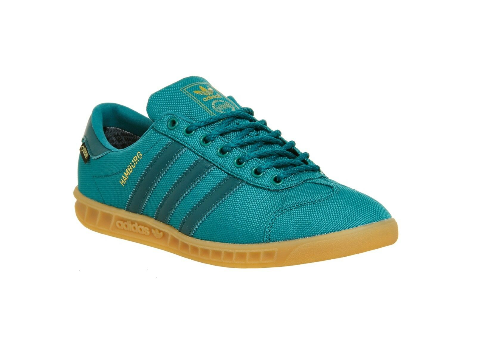 Adidas amburgo gtx + + raro + + eme, verde '11,5 / striscia verde uomini '11,5 verde spezial samba 334158