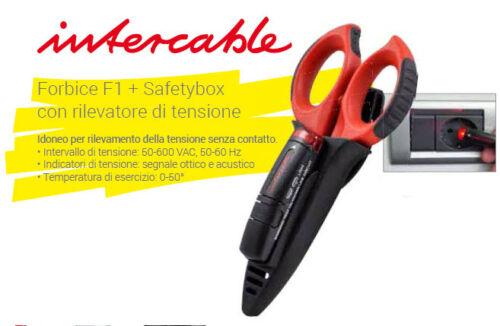 Safetybox con rilevatore di tensione INTERCABLE PROMO 16020-CF1 Forbice F1
