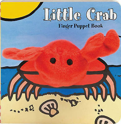 Little Crab Finger Puppet (Little Finger Puppet Board Books) by , NEW Book, FREE