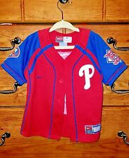 Nike  Philadelphia Phillies Red  2T toddlers Jersey Button up. Ryan Howard #6