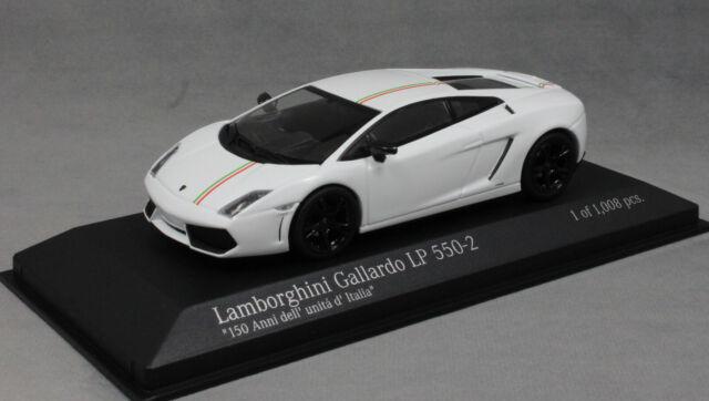 Minichamps Lamborghini Gallardo LP550-2 Tricolore Edition 2011 400103801 1/43NEW