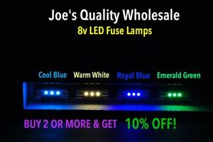 BUY(5)GET(5)FREE !! 8V LED FUSE LAMP/2230 2275 METER-DIAL/COLOR CHOICE !/Marantz
