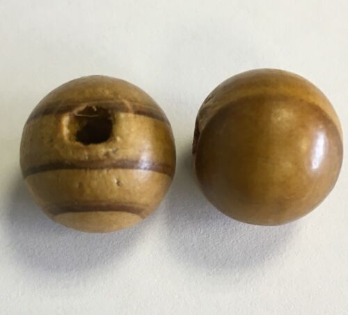 Wooden Beads 16mm Pack Of 20