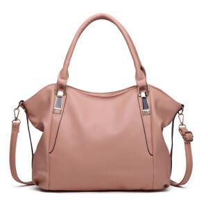 Miss Lulu Leisure Daily Ladies Soft PU Leather Hobo Handbag Tote ... 1aeaa22fd9711