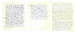Rosa-Parks-3-Pages-of-Handwritten-Notes-about-Bus-Boycott-amp-Meeting-MLK