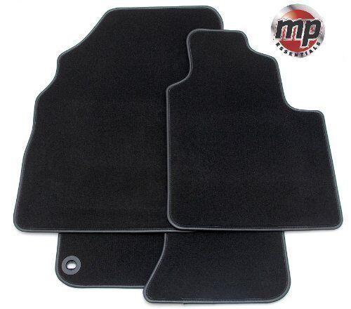 Black Premier Carpet Car Mats for Audi A8 LWB 2003 -2009 - Leather Trim