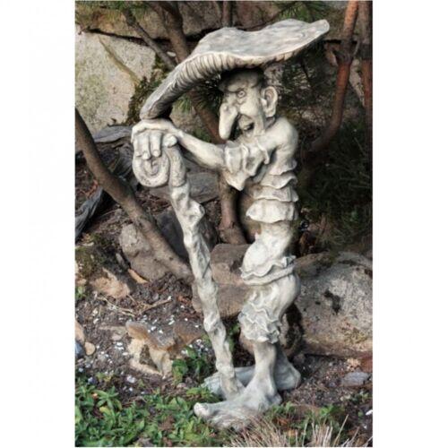 Pierre personnage lutin Fliegenpilz de Steinguss Troll Gobelins jardin NOUVEAU v-118402